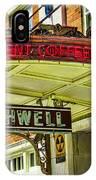 Historic Hotel Bothwell IPhone Case