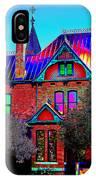 Historic House Pop Art IPhone Case