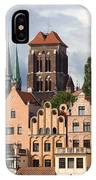 Historic Houses In Gdansk IPhone Case