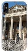 Historic Limestone County Courthouse In Athens Alabama IPhone Case