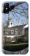 Historic Nantucket Church IPhone Case