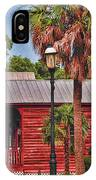 Historic Pensacola With Added Color IPhone Case