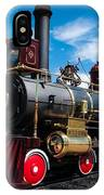 Historic Steam Locomotive - Promontory Point IPhone Case