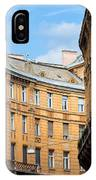 Historic Tenement Houses In Budapest IPhone Case