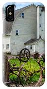 Historic Uniontown Washington Dairy Barn IPhone Case