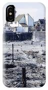 Historic Venice Pier In California Burned Down Over 40 Years Ago - Home To Lawrence Welk's Tv Show. IPhone Case