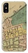 Historical Manhattan Map 1728 IPhone Case