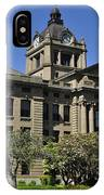 Historical Montesano Courthouse IPhone Case