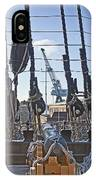 Hms Victory Cannon IPhone Case