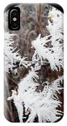 Hoarfrost 15  IPhone Case