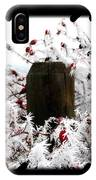Hoarfrost 17  IPhone Case