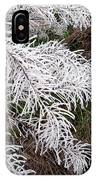 Hoarfrost 26 IPhone Case
