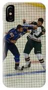 Hockey Fight IPhone Case
