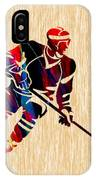 Hockey Player IPhone Case