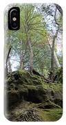 Hocking Hills Moss Covered Cliff IPhone Case