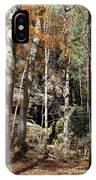 Hocking Hills Trees IPhone Case