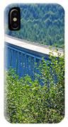 Hoffstadt Creek Bridge To Mount St. Helens IPhone Case