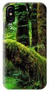 Hoh Rainforest IPhone Case