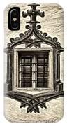 Hohes Schloss Window IPhone Case