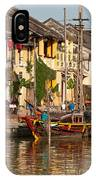 Hoi An Fishing Boat 02 IPhone Case
