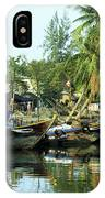 Hoi An Fishing Boats 01 IPhone Case