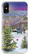 Holiday At Campton Farm New Hampshire IPhone Case