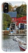 Holiday At Rockport IPhone Case