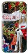 Holiday Bliss IPhone Case