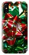 Holiday Bows IPhone Case