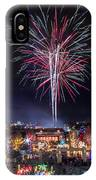 Holiday Fireworks IPhone Case