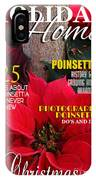 Holiday Home Magazine Cover IPhone Case