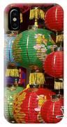 Chinese Holiday Lanterns IPhone Case