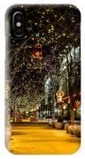 Holiday Lights In Denver Colorado IPhone Case