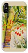 Holiday Palm IPhone Case