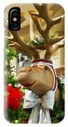 Holiday Reindeer IPhone Case