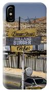 Holland Burger IPhone Case