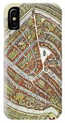 Holland: Gouda Plan, 1649 IPhone Case