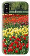Holland Tulip Fields IPhone Case