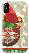 Holly And Berries-b IPhone Case