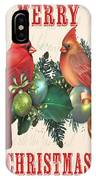 Holly And Berries-i IPhone Case