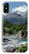 Hollyford River And The Eyre Range IPhone Case