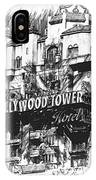 Hollywood Tower IPhone Case