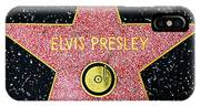 Hollywood Walk Of Fame Elvis Presley 5d28923 IPhone X Case