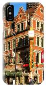 Holy Cow Harry Caray Building IPhone Case