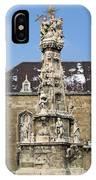 Holy Trinity Statue Budapest IPhone Case