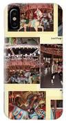 Holyoke Carousel Collage IPhone Case