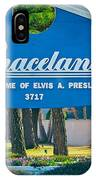 Home Of Elvis IPhone Case