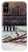 Home Of The Black-crowned Night Heron IPhone Case