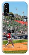 Home Run Or Struck Out IPhone Case