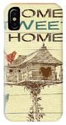 Home Tweet Home IPhone Case